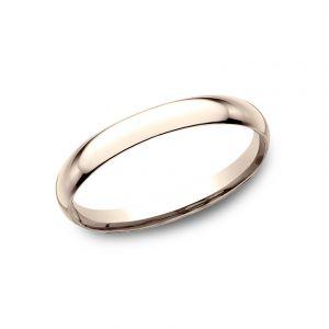 Benchmark 14k Rose Gold Standard Comfort-Fit 2mm Wedding Ring