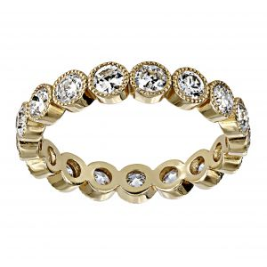 Single Stone Medium Gabby Old European Diamond Eternity Band