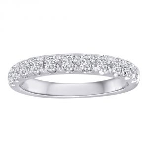 TWO by London Pave Diamond Classic Anniversary Band