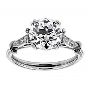 Single Stone Old European Diamond Solitaire
