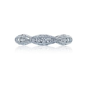 Tacori Classic Crescent Diamond Eternity Band