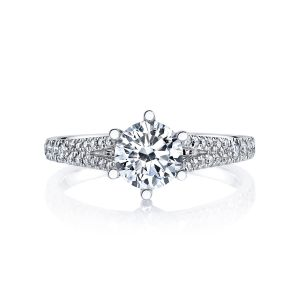MARS Jewelry Modern Muses Split Shank Diamond Engagement Ring