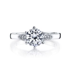 MARS Jewelry Rebel Hearts Scalloped Engagement Ring