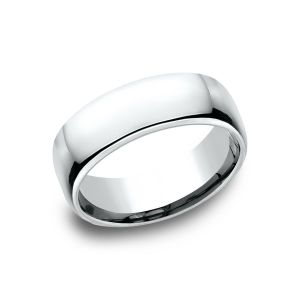 Benchmark 7.5mm European Comfort-Fit Wedding Band