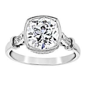 Single Stone Colette Old European Cut Diamond Engagement Ring