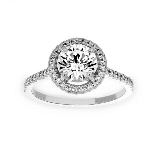 Michael B. Royal Trois Round Engagement Ring