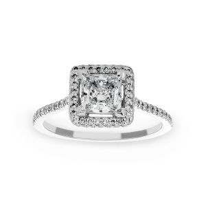 Michael B. Royal Trois Princess Engagement Ring