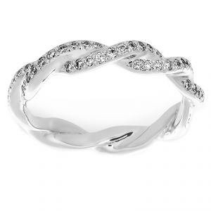 Michael B. Diamond Infinity Eternity Band