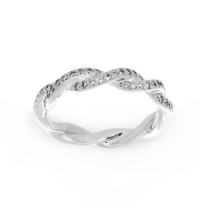 Michael B. Pave Diamond Infinity Eternity Band