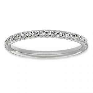 Michael B. Petite Princess Eternity Band