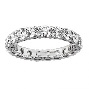TWO by London Shared Prong Diamond Eternity Band