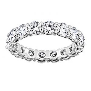 TWO by London Round Diamond Classic Eternity Band