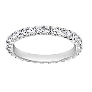 TWO by London Diamond Four Prong Eternity Band