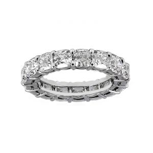 TWO by London Cushion Cut Diamond Eternity Band