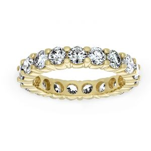 TWO by London Shared Prong Round Diamond Eternity