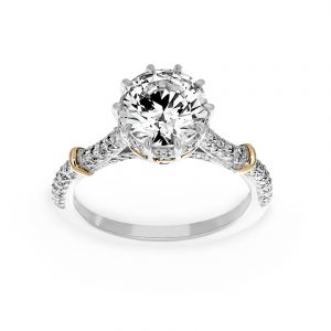 Michael B. Tango Di Amore Solitaire Engagement Ring