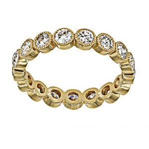 Single Stone Gabby Diamond Eternity Band