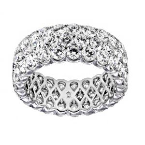TWO by London Three Row Diamond Eternity Band