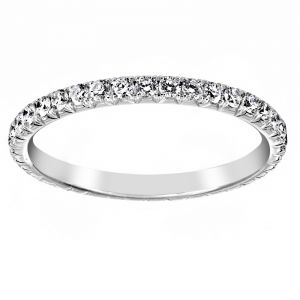TWO by London Micro-Pave Cutdown Diamond Eternity Band