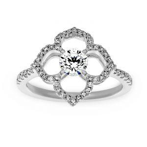 Forevermark Diamond Lotus Engagement Ring