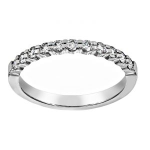 TWO by London Petite Prong Wedding Band