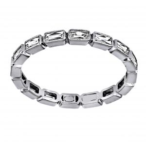 Single Stone Julia Diamond Eternity Band