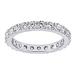 TWO by London Prong Diamond Eternity Band