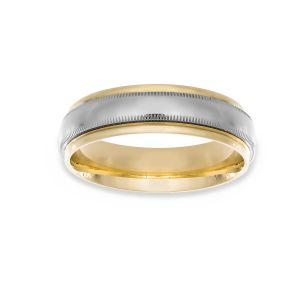 Benchmark Wide Comfort Fit Wedding Band