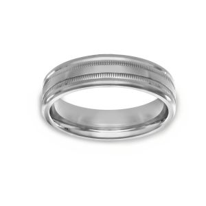 Benchmark High Polished Wedding Band