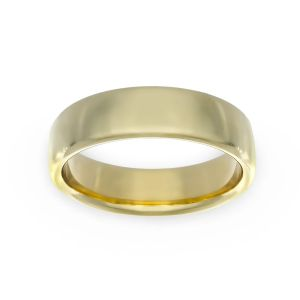 Benchmark 6.5mm Flat Surface Wedding Band