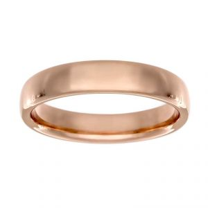 Benchmark 3.5mm Traditional Rose Wedding Band