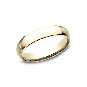Benchmark 18k Yellow Gold Standard Comfort-Fit 4mm Wedding Ring