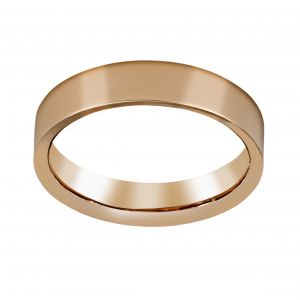 Henri Daussi Matte Finish Wedding Band